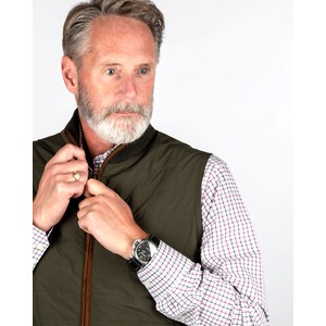 Schoffel Country Hybrid Aerobloc Gilet in Loden Green