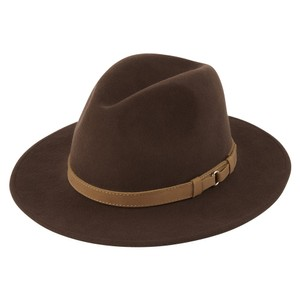 Schoffel Country Willow Fedora in Chocolate