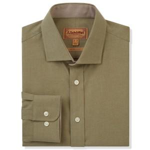 Newton Tailored Sports Shirt Olive