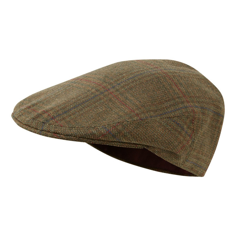 Schoffel Country Tweed Classic Cap Buckingham Tweed
