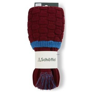 Teigh Sock Claret/Sea Blue