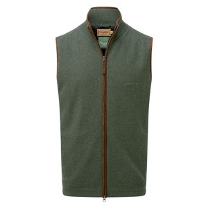 Schoffel Country Lambswool Aerobloc Gilet in Cedar Green