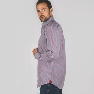 Schoffel Country Hebden Tailored Shirt Sea Blue/Chilli