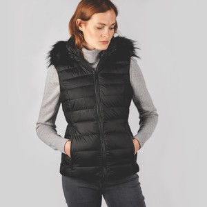 Hampstead Down Gilet Black