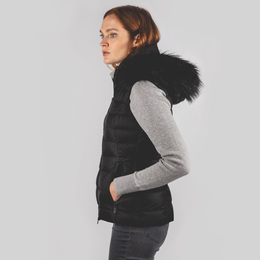 Schoffel Country Hampstead Down Gilet Black