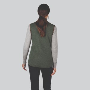 Schoffel Country Ladies Lambswool Aerobloc Gilet Cedar Green