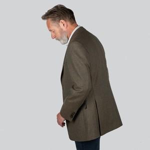 Schoffel Country Belgrave Sports Jacket Loden Green H/Bone Tweed