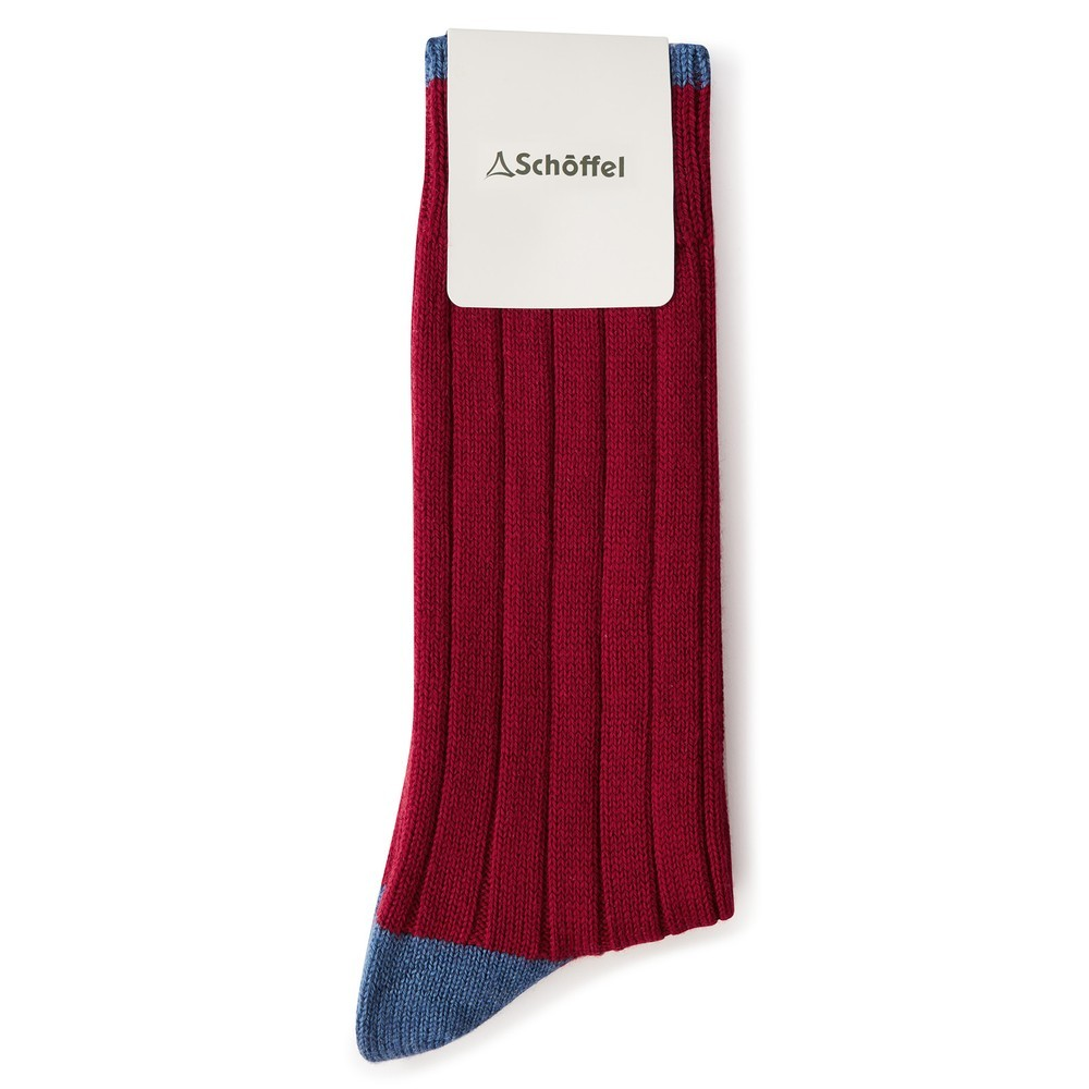 Schoffel Country Hilton Sock Currant
