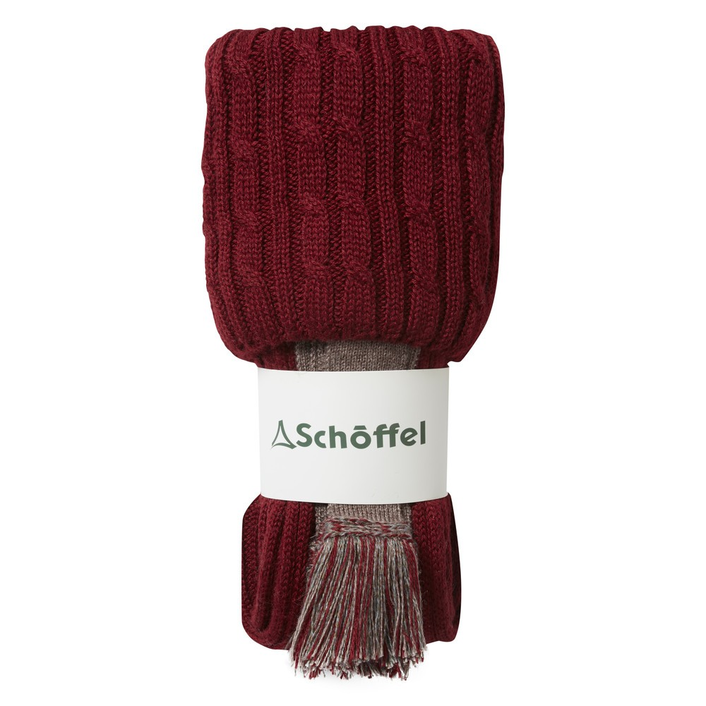 Schoffel Country Lilymere Sock Claret