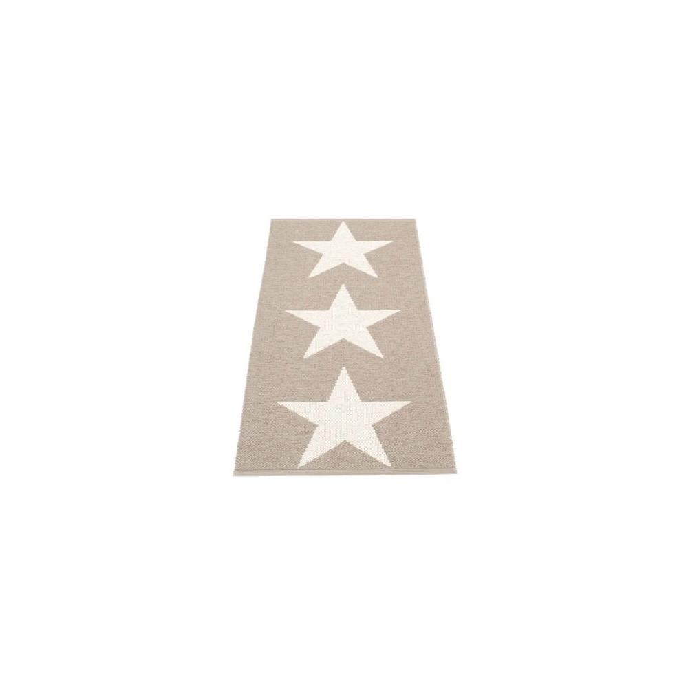 Pappelina Viggo Reversible Runner Mud/Vanilla