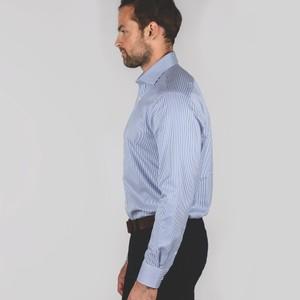 Schoffel Country Greenwich Tailored Shirt Navy/Stripe