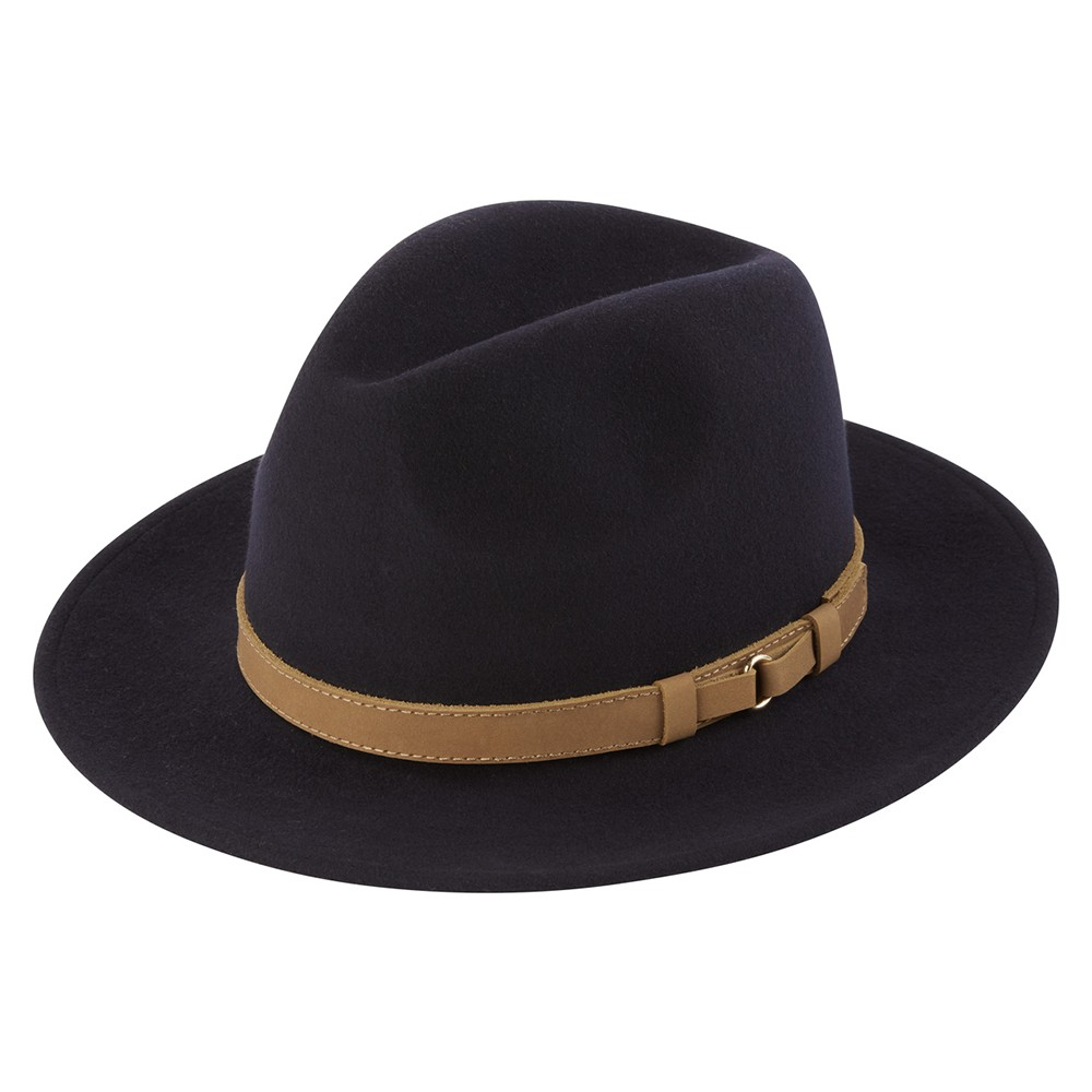 Schoffel Country Willow Fedora Navy
