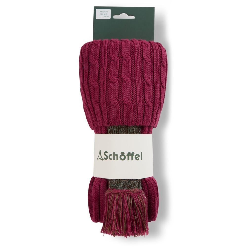 Schoffel Country Lilymere Sock Raspberry
