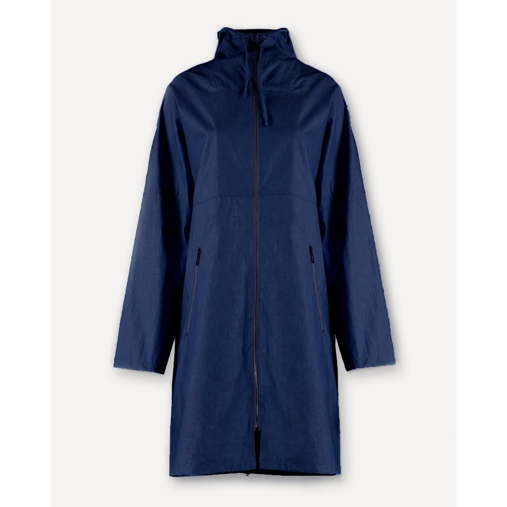 Pret Pour Partir Torino Full Zip Hooded Mac Navy