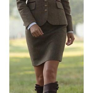 Bernice Check Skirt Moss Raspberry