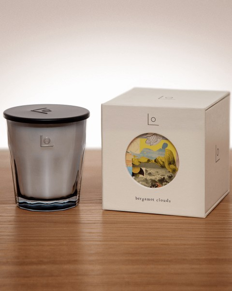 Lo Bergamot Clouds Candle Bergamot Clouds