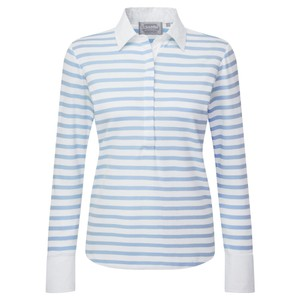Salcombe Shirt Harbour Stripe Cornflower