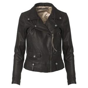 Seattle Leather Jacket Black
