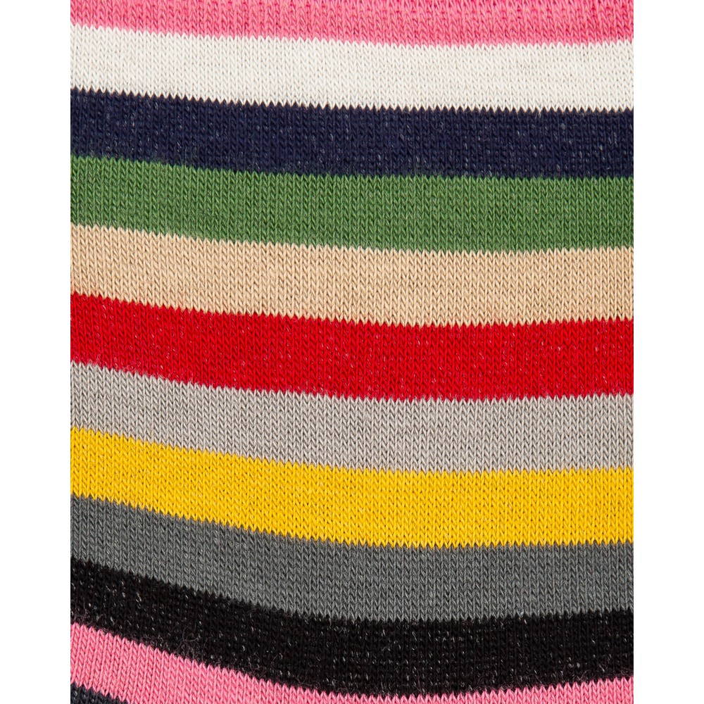 Paul Smith Accessories Pony Stripe Socks Pink/Multi