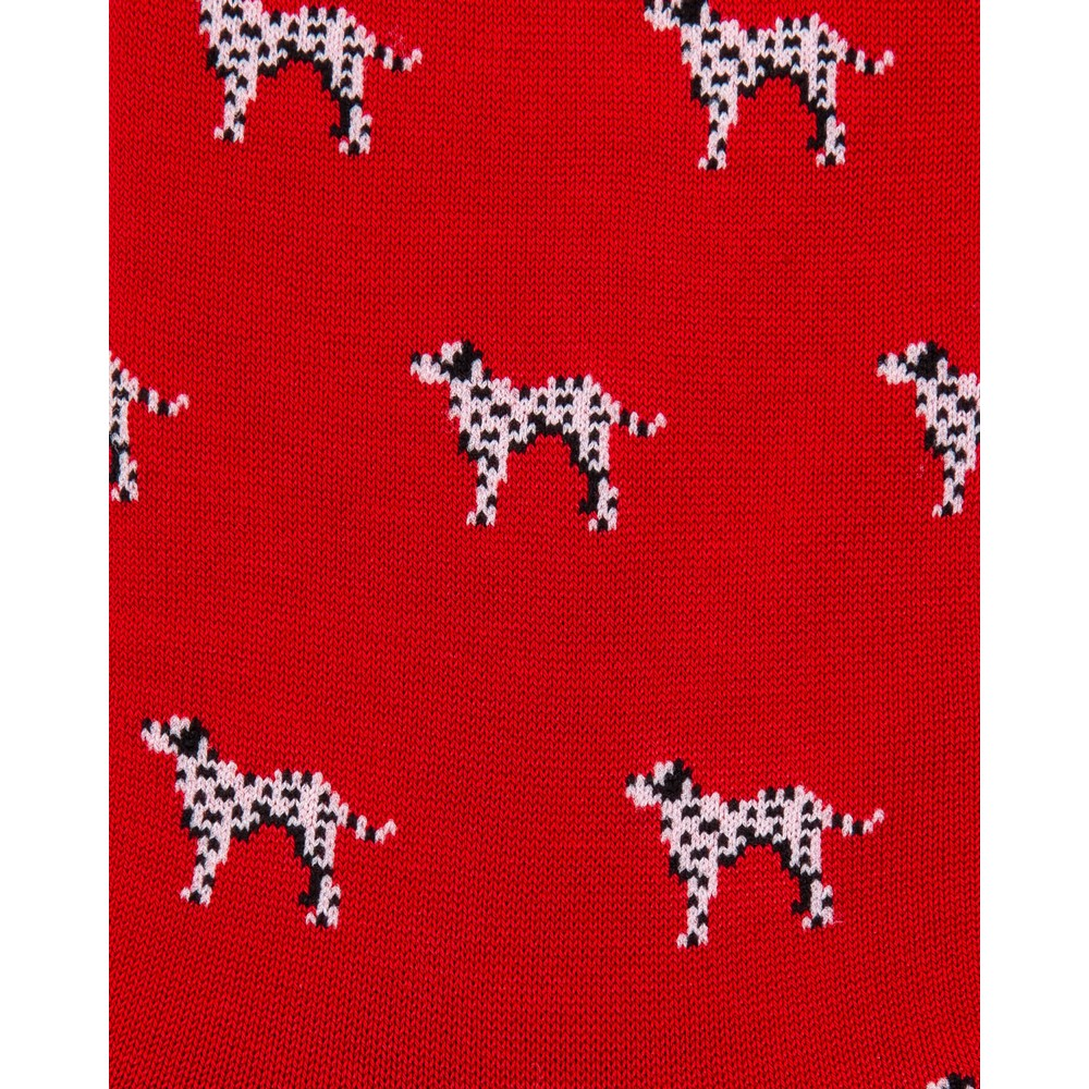 Paul Smith Accessories Dalmation Socks Red