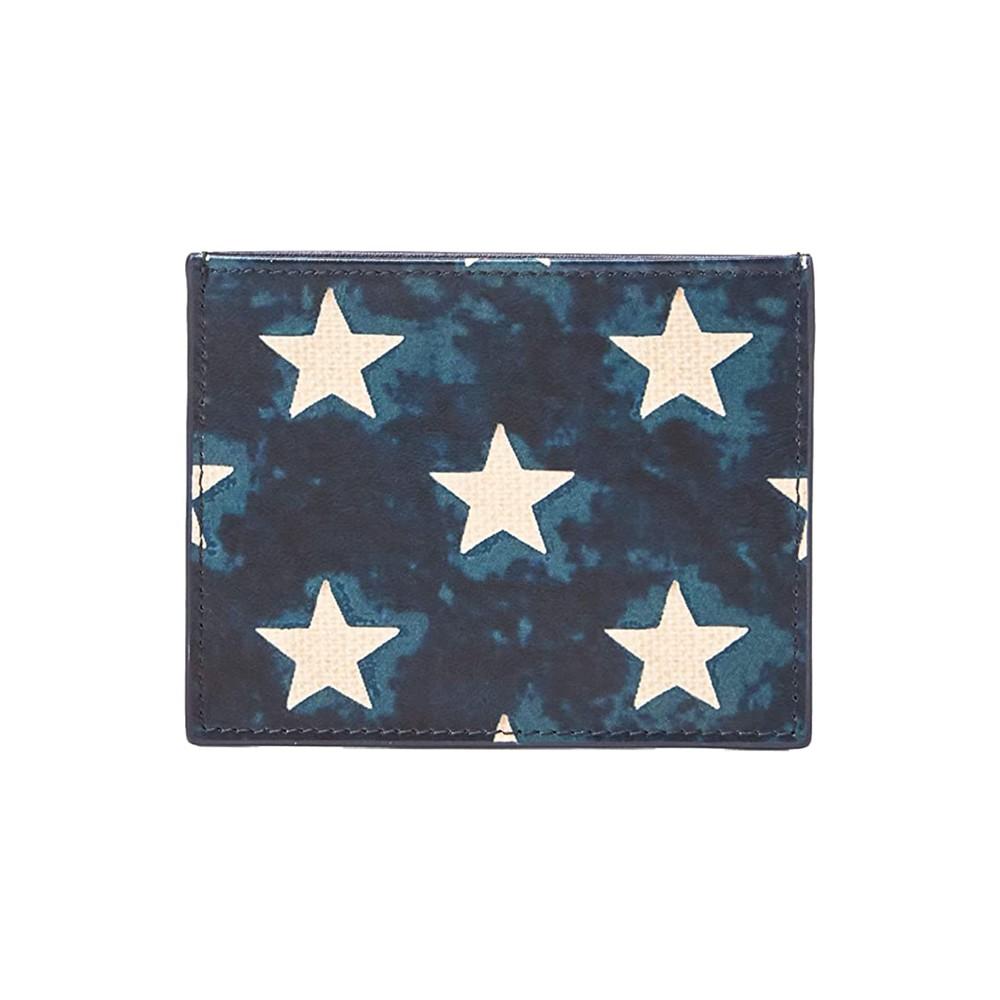 Polo Ralph Lauren Star Card Case Navy/White