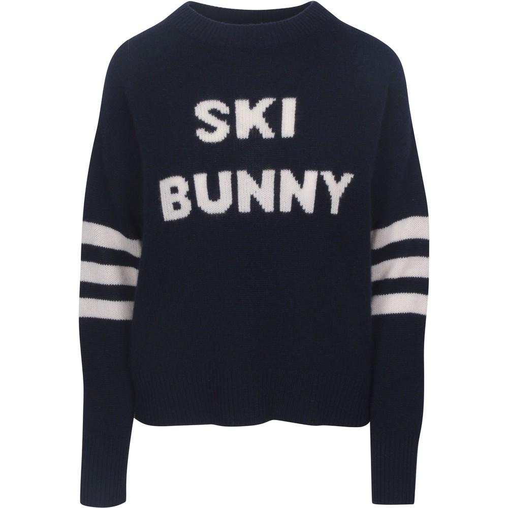 360 Sweater Ski Bunny Jumper Navy/Smoke Pink