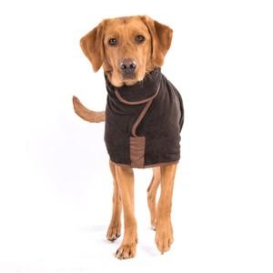 M/L Dog Drying Coat Mud