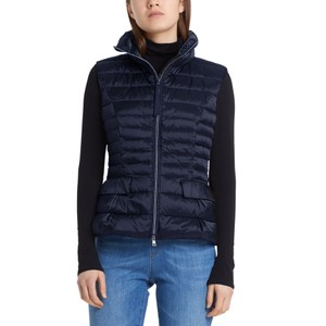 Quilted Down Gilet Midnight Blue