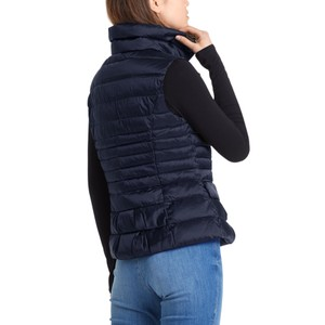 Marc Cain Quilted Down Gilet Midnight Blue