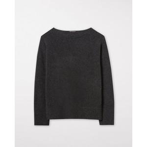 Luisa Cerano B/Nk Rib Trim/Cuff Sweater Black