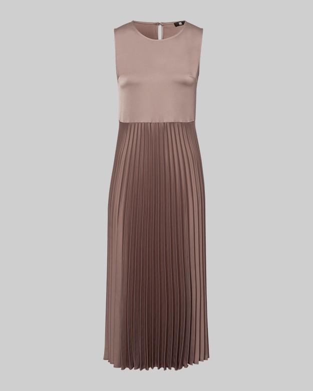Riani Pleat Skirt Jumper Layer Dress Rocca