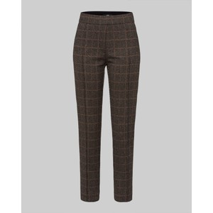 Checked Slim Fit Trousers Castagna