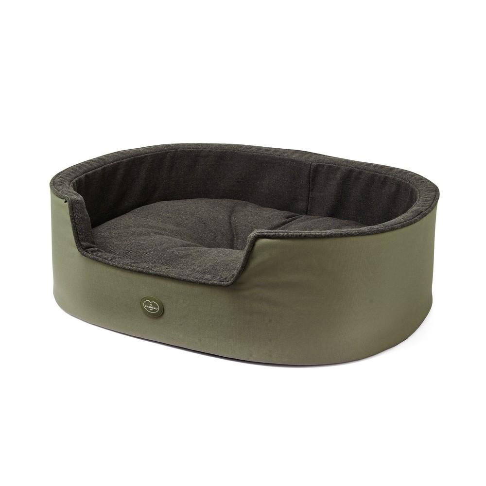 Le Chameau Dog Bed Vert Chameau