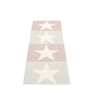 Viggo Reversible Rug Fossil Grey/Pale Rose