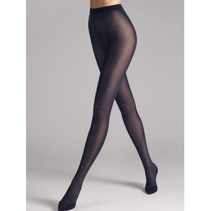 Wolford Velvet de Luxe 50 in Dark Navy