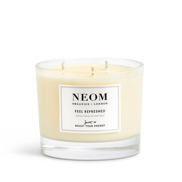 Neom Organics 3 Wick Scented Candle Feel Refreshed