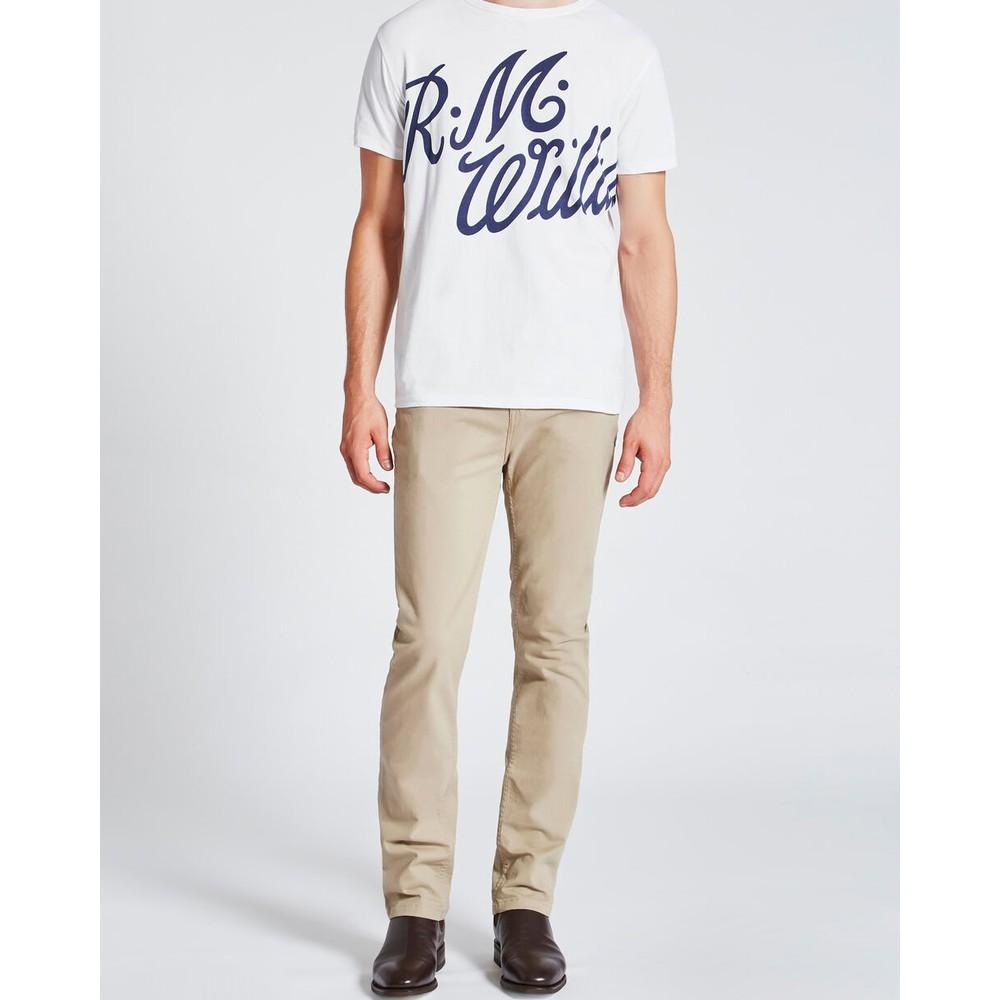 R.M.Williams Ramco Drill Jeans 32in Leg Buckskin