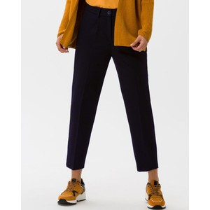 Brax Marcie Relaxed Fit Trousers Navy