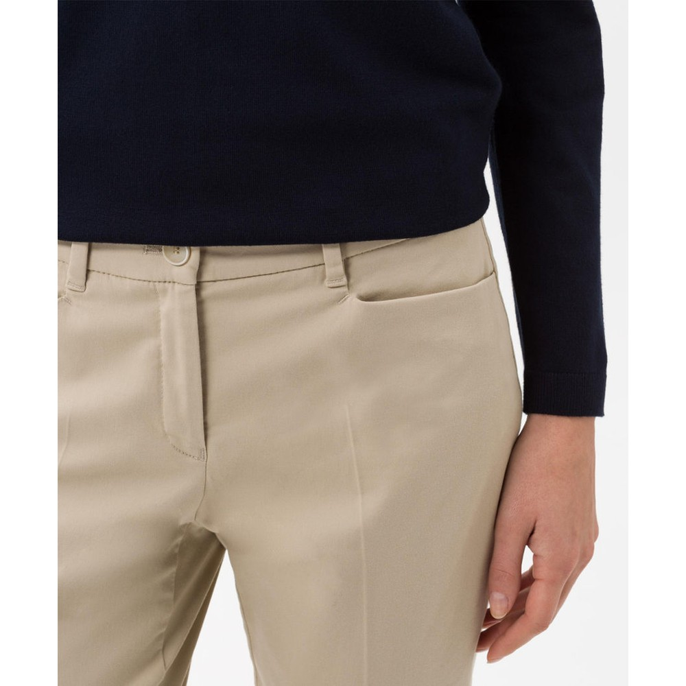 Brax Mara Slim Fit Trouser Light Beige