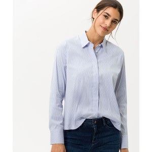 Venera Stripe Shirt Blue/White Fine Strp
