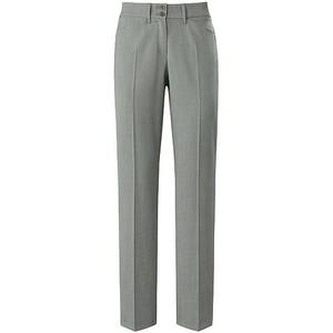 Brax Celine Straight Wool Trouser Mid Grey