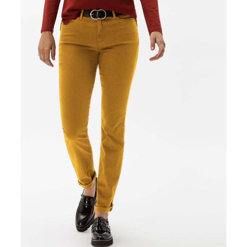 Brax Shakira Skinny Trouser Mustard