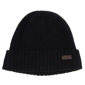 Barbour Carlton Beanie Hat in Black