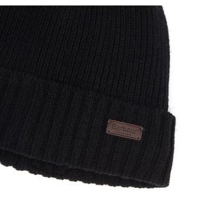 Barbour Carlton Beanie Hat Black