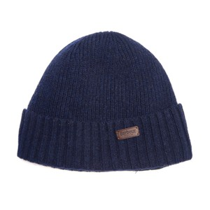 Barbour Carlton Beanie Hat in Navy