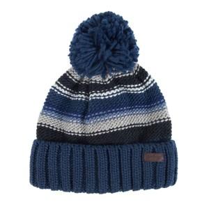 Harrow Stripe Beanie Grey/Blue