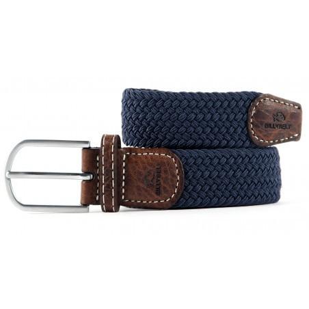Billybelt The Braided Belt - Slate Blue Slate Blue