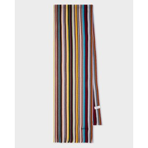 Multi Allover Stripe Scarf Multicolour