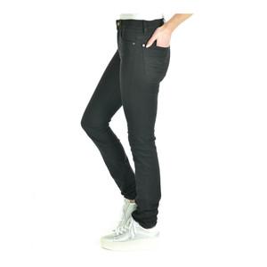 7 Fam Rozie Slim Illusion High Waist Luxe Rinsed Black
