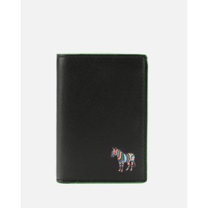 Zebra Slip Card Wallet Black